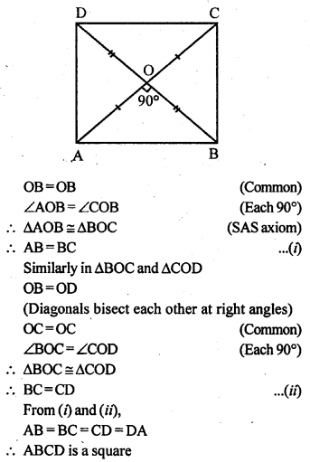 ML Aggarwal Class 9 Solutions for ICSE Maths Chapter 13 Rectilinear Figures  ex 12a
