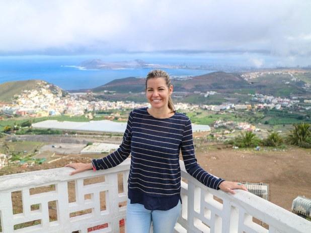 Mirador de la montaña de Arucas