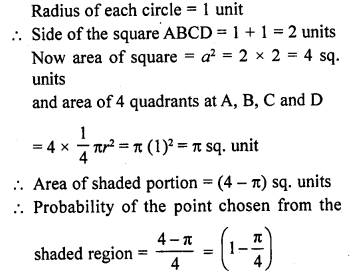 Class 10 RD Sharma Solutions Chapter 13 Probability