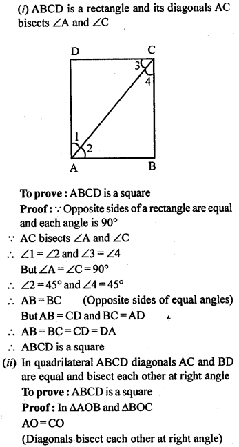 ML Aggarwal Class 9 Solutions for ICSE Maths Chapter 13 Rectilinear Figures  ex 12