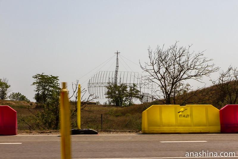 Поисковый радар ПВО, Крым