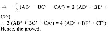 ML Aggarwal Class 9 Solutions for ICSE Maths Chapter 12 Pythagoras Theorem     22c