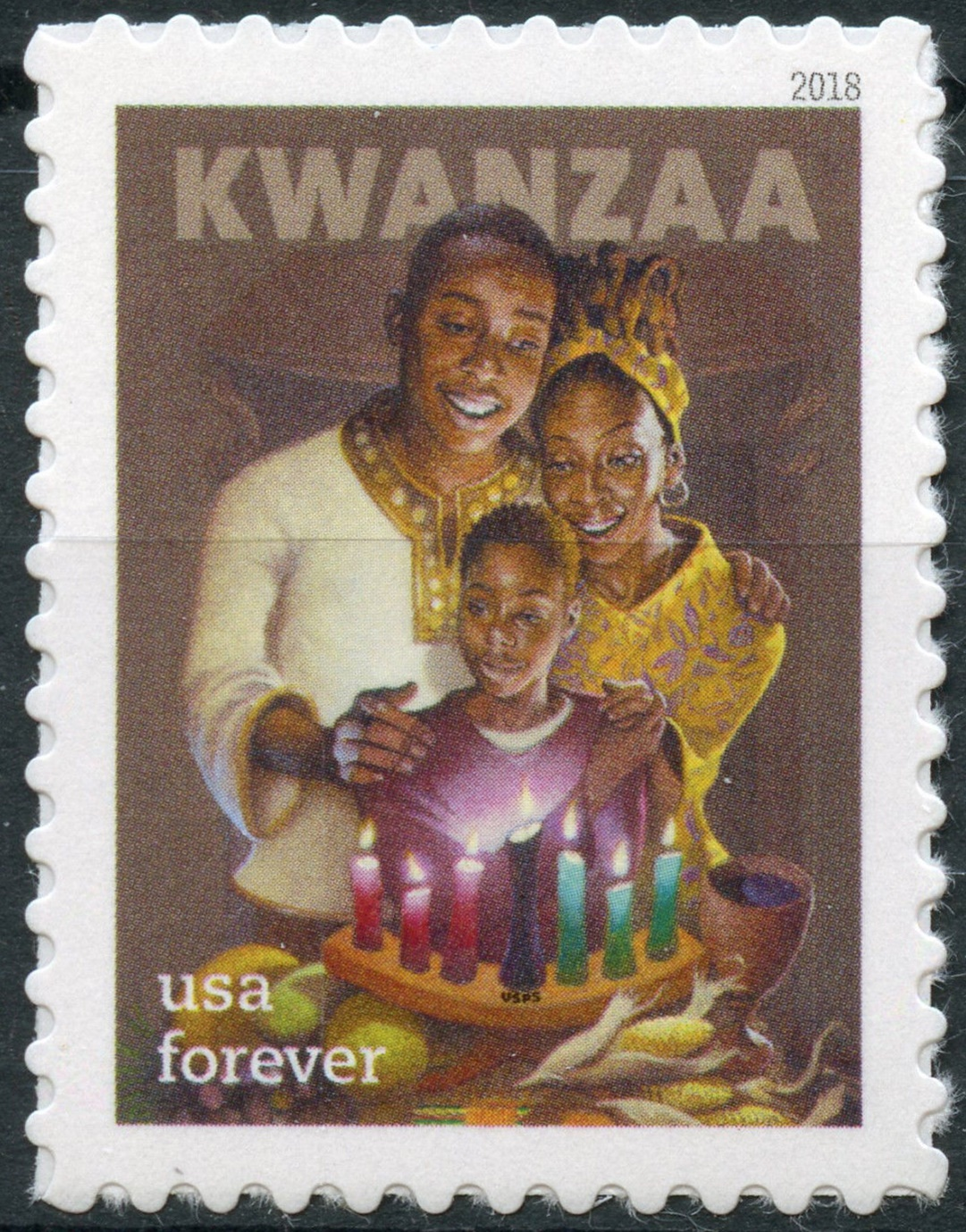 The Colorful Celebrations Of Kwanzaa A Stamp A Day