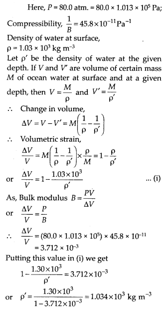 NCERT Solutions for Class 11 Physics Chapter 9 Mechanical properties of solid 12