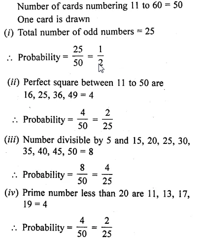 RD Sharma Class 10 Solutions Chapter 16 Probability Ex 16.1 66