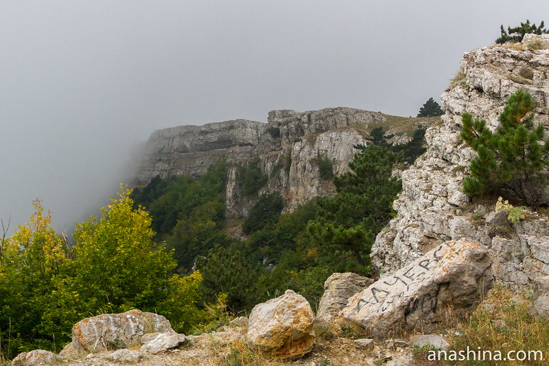 Путь к вершине Ай-Петри, Крым