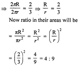 RD Sharma Class 10 Solutions Chapter 13 Areas Related to Circles Ex 13.1 7