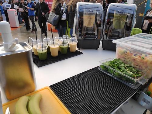 Smoothie Catering , mobile Smoothiebar, messe Catering, Düsseldorf für Ashfild in der Klassik Remise auf der Jobvector