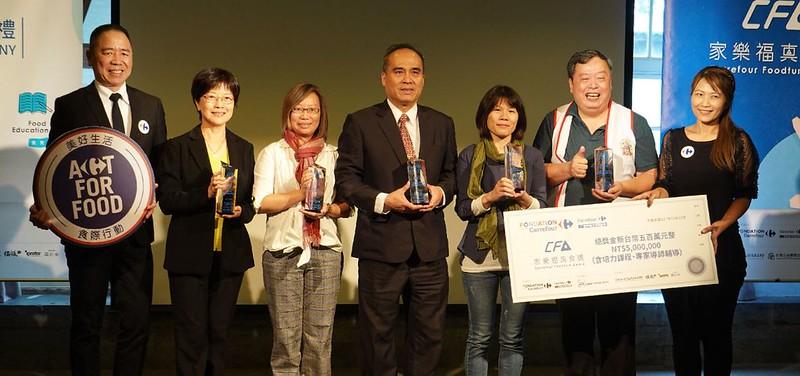 鼓勵友善生產與食育計畫 家樂福首屆真食獎得主揭曉 | 環境資訊中心
