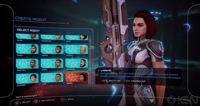 Crackdown 3 Character Select
