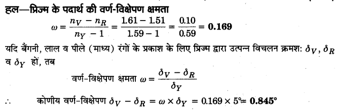 UP Board Solutions for Class 12 Physics Chapter 9 Ray Optics and Optical Instruments SAQ 14
