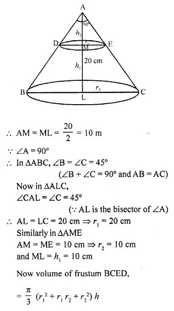 RD Sharma Class 10 Solutions Chapter 14 Surface Areas and Volumes Ex 14.3 pq