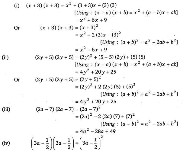 NCERT Solutions for Class 8 Maths Chapter 9 Algebraic Expressions and Identities 22