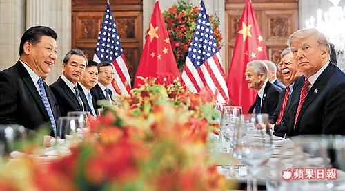 美中貿易,關稅 ,川普,習近平,貿易戰,高峰會