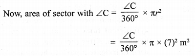 RD Sharma Class 10 Solutions Chapter 13 Areas Related to Circles Ex 13.4 - 51a