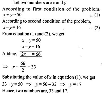 ML Aggarwal Class 9 Solutions for ICSE Maths Chapter 6 Problems on