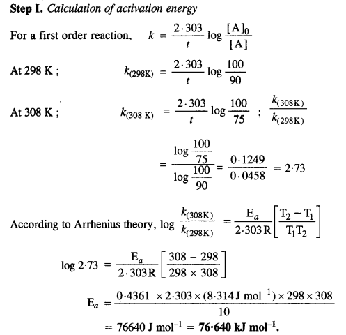 NCERT Solutions for Class 12 Chemistry Chapter 4 Chemical Kinetics 53