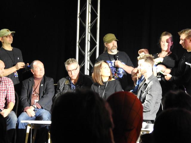 Firestorm panel - MCM Comic Con - Sam Payne Picture 2
