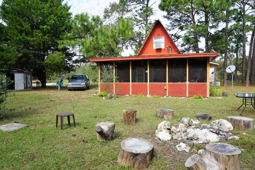 Stay in This A-Frame Cabin in the Olive Grove, Brooksville, Fla.
