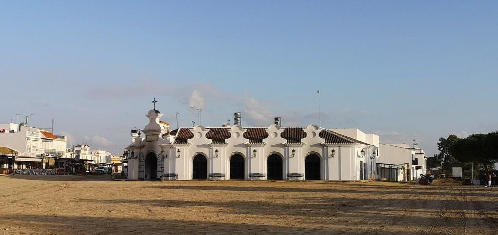 exterior Capilla Votiva Virgen del Rocio en Almonte Huelva 01