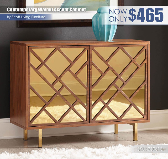 Contemporary Walnut Accent Cabinet_Scott Living_950810
