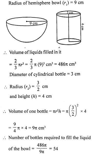 RD Sharma Class 10 Solutions Chapter 14 Surface Areas and Volumes Ex 14.1 39