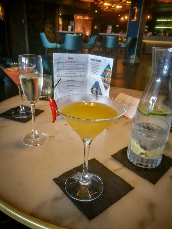 Dirty Martini Bottomless Brunch Review Cardiff