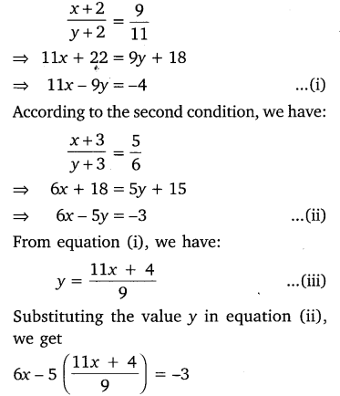 NCERT Solutions for Class 10 Maths Chapter 3 Pair of Linear Equations in Two Variables e3 3b