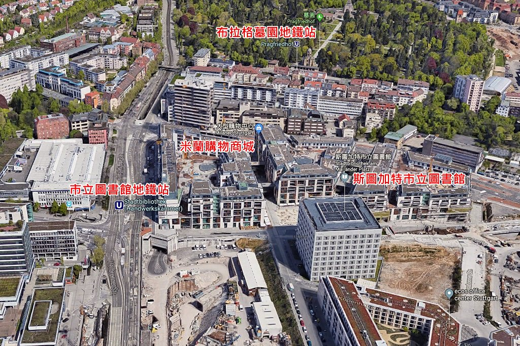 Stadtbibliothek Stuttgart Map