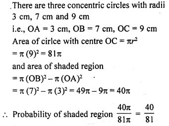 RD Sharma Solutions Class 10 Chapter 13 Probability
