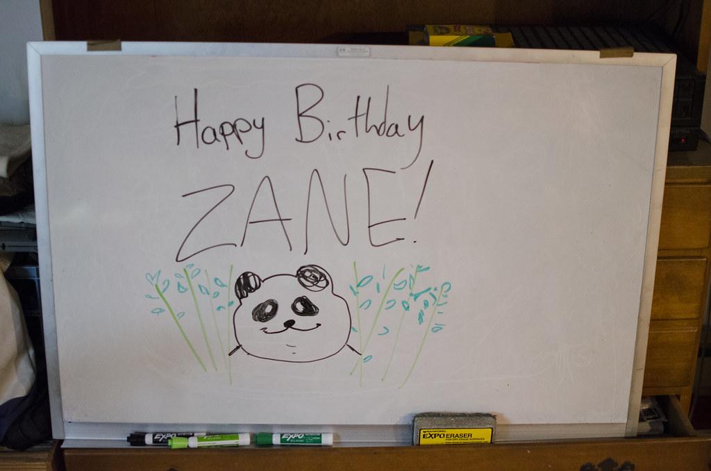 zane turns 7 - 11