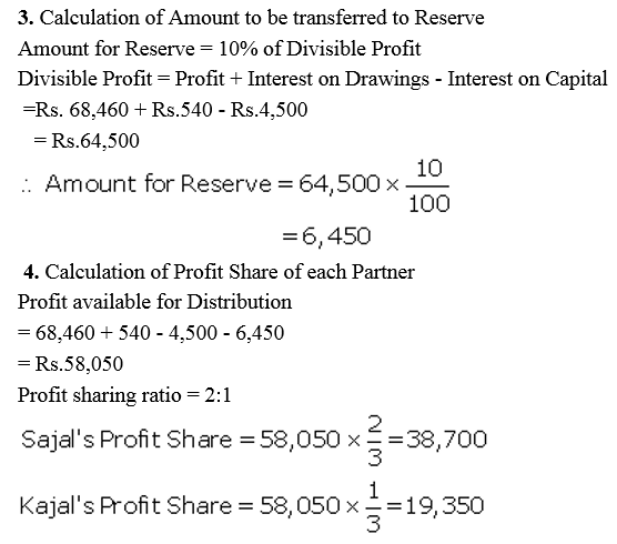 TS Grewal Accountancy Class 12 Solutions Chapter 1 Accounting for Partnership Firms - Fundamentals Q45.2