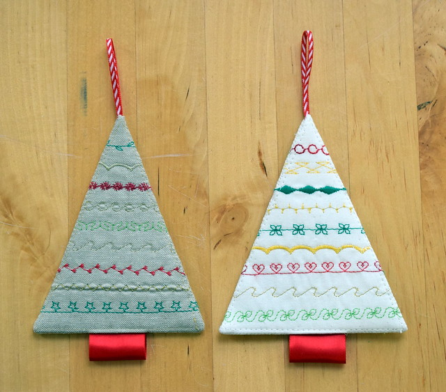Stitchy Christmas Trees