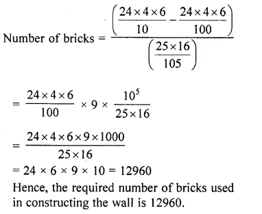 RD Sharma Class 10 Solutions Chapter 14 Surface Areas and Volumes  RV 70a