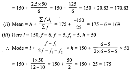 RD Sharma Class 10 Solutions Chapter 15 Statistics Ex 15.5 11c