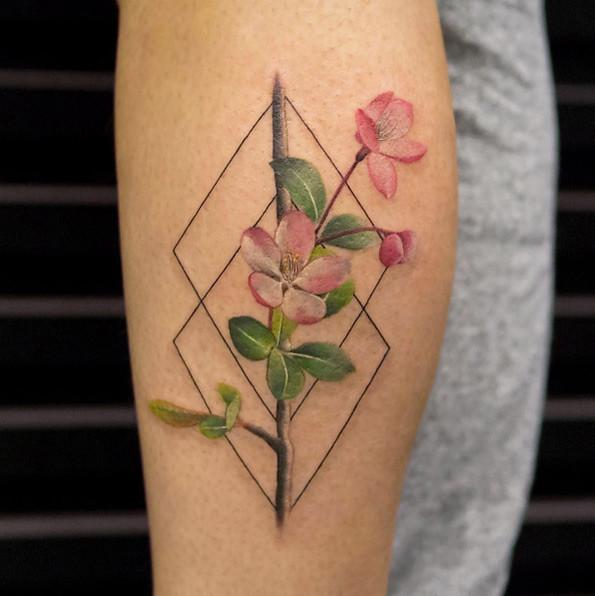 Tatuajes Flor De Cerezo Con Mucho Significado Mini Tatuajes