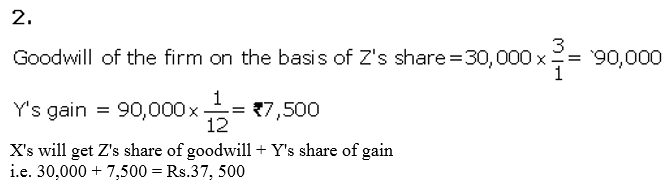 TS Grewal Accountancy Class 12 Solutions Chapter 4 Admission of a Partner Q27.1