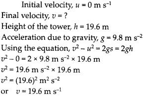 NCERT Solutions for Class 9 Science Chapter 10 Gravitation 13