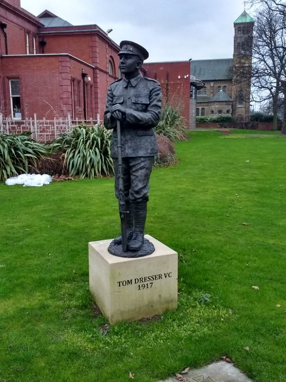 Tom Dresser Memorial, Middlesbrough