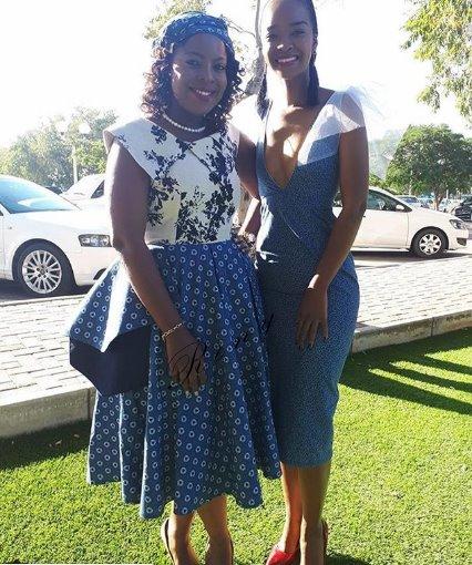 Stunning Shweshwe Dresses 2019