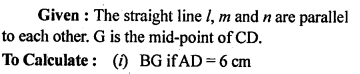 ML Aggarwal Class 9 Solutions for ICSE Maths Chapter 11 Mid Point Theorem    12a