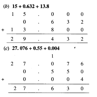 NCERT Solutions for Class 6 Maths Chapter 8 Decimals 36