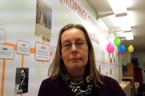 Pernilla Mattsson, stadsarkivarie