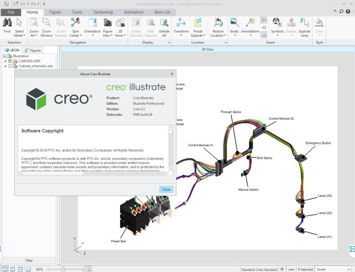 Working with PTC Creo Illustrate 5.1 F000 full license