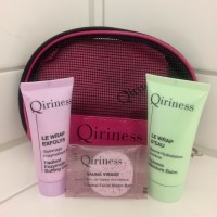 Beauty: Trying out some samples (Qiriness 3-step at home system)