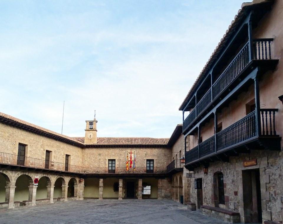 Ayuntamiento Plaza Mayor Albarracin Teruel