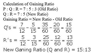 TS Grewal Accountancy Class 12 Solutions Chapter 5 Retirement Death of a Partner Q14