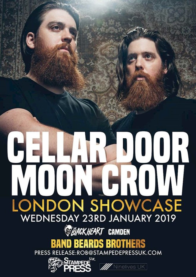 Cellar Door Moon Crow poster