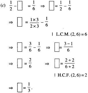 NCERT Solutions for Class 6 Maths Chapter 7 Fractions 109
