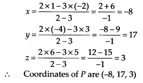 NCERT Solutions for Class 11 Maths Chapter 12 Introduction to Three Dimensional Geometry 10